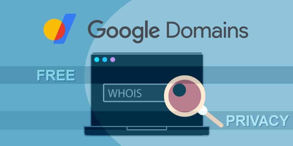 free whois privacy when registering domain with Google Domains