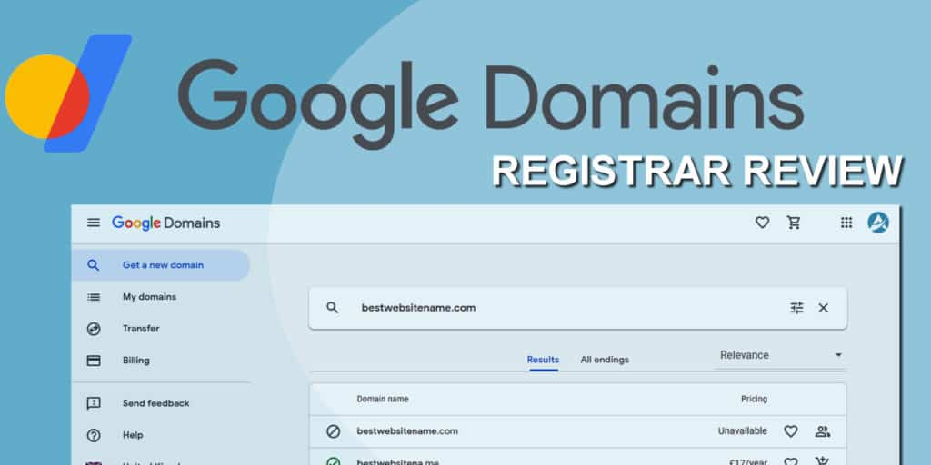 Google Domains Registrar Review